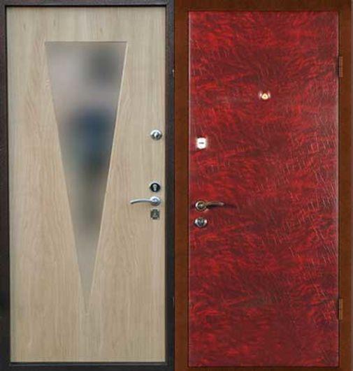 Входная металлическая дверь винилискожа + МДФ СП050